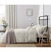 Sanderson Damson Tree Duvet Cover Dove Grey