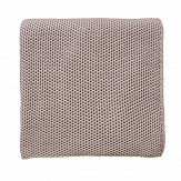 Sanderson Damson Tree Knitted Throw Lilac