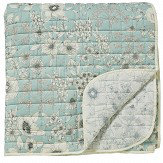 Sanderson Maelee Quilted Bedspread Seaflower Throw - Product code: DA401761040