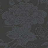 Oasis Jasmin Black Wallpaper - Product code: W0110/01