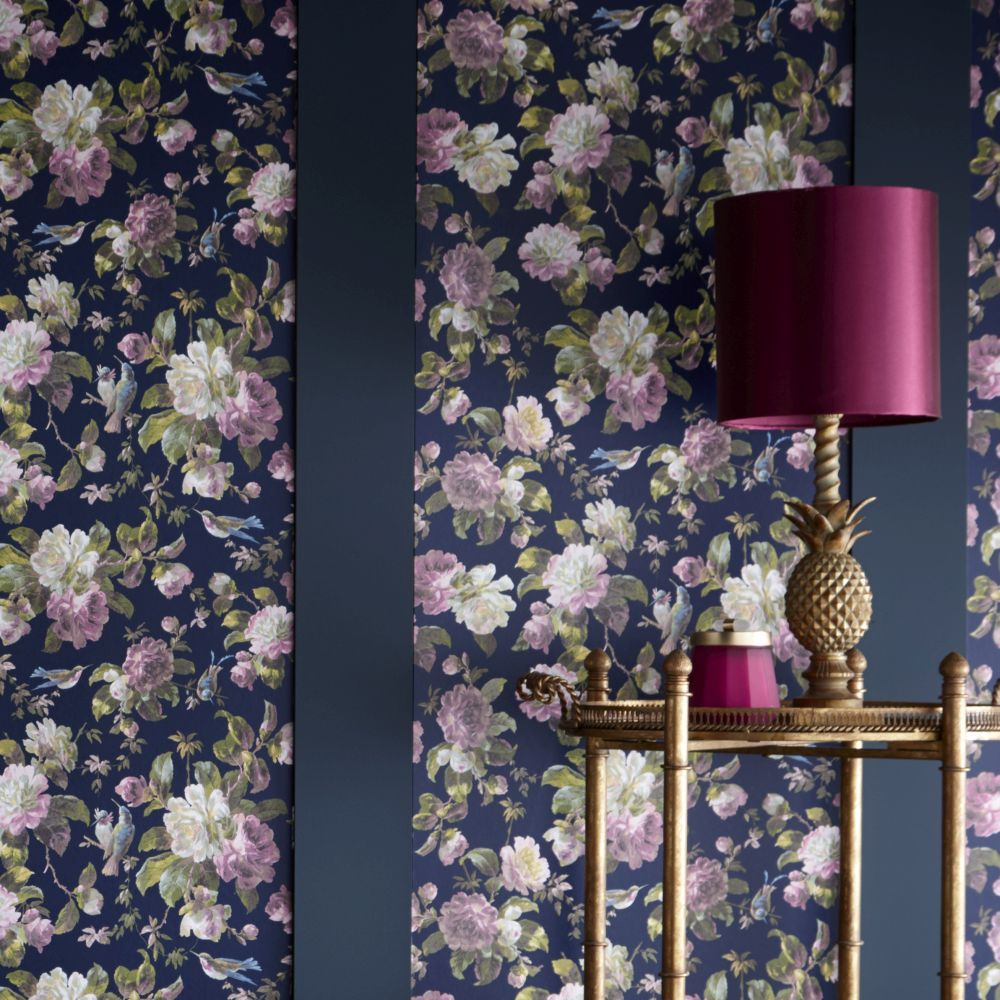 Oasis Renaissance Midnight Wallpaper - Product code: W0112/03