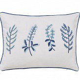 Sanderson Paper Doves Embroidered Cushion Denim