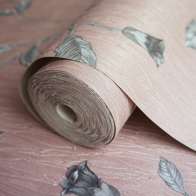 Albany Lia Rose Gold Wallpaper - Product code: 35177