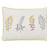 Sanderson Paper Doves Embroidered Cushion Mineral