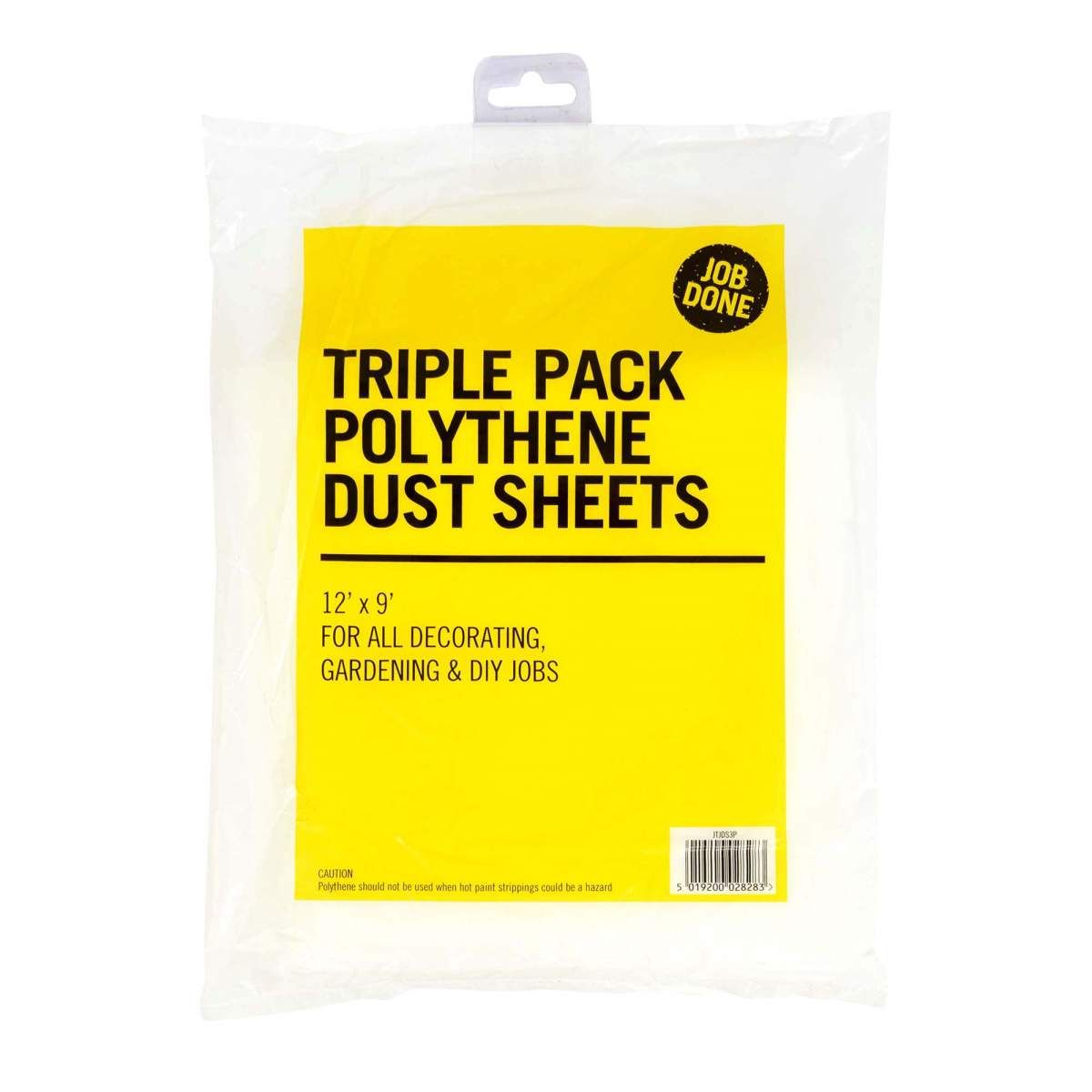 Albany Rodo Poly Dust Sheet pack 3JTJDS3P Tool - Product code: NQ3115