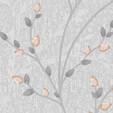 Albany Amelio Grey and Rose Gold Wallpaper