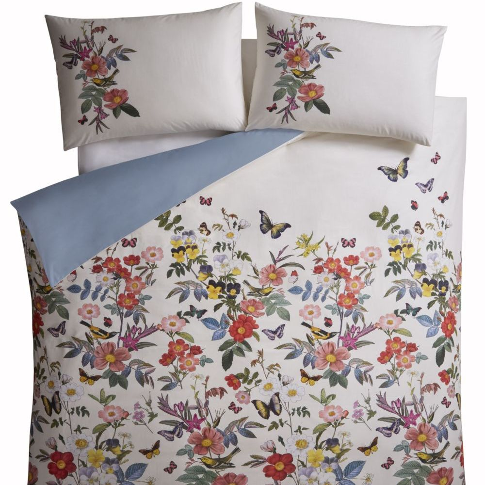 Oasis Ava Duvet Set Multi on White Duvet Cover - Product code: M0009/01/SK