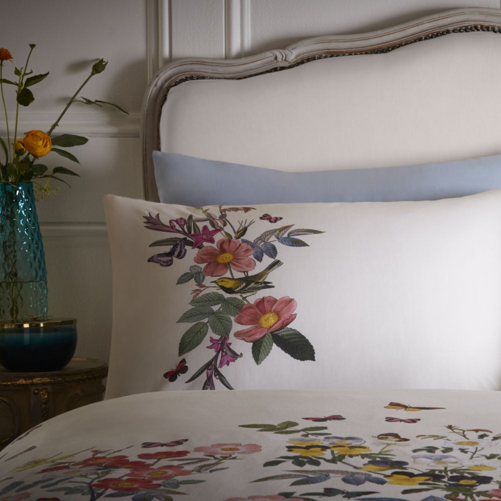 Oasis Ava House Wife Pillowcase Pair Blue - Product code: M2026/01