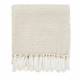 Sanderson Sundial Woven Throw Linen - Product code: DA401801040