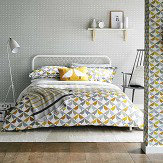 Scion Lintu King Size Duvet Cover Dandelion and Pebble