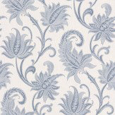 Albany Sorrento Neo Classical Blue Wallpaper