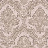 Albany Sassari Damask Taupe Wallpaper