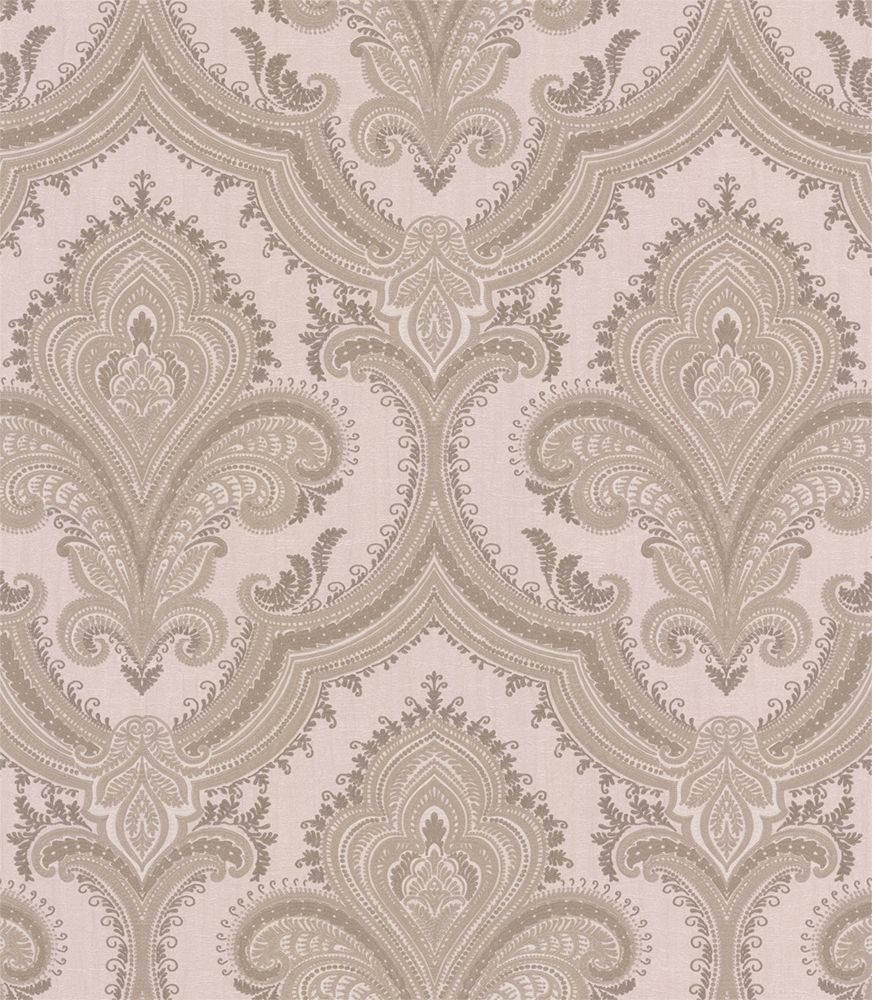 Albany Sassari Damask Taupe Wallpaper - Product code: 520323