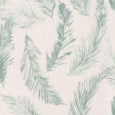 Albany Feathers Blue / Green Wallpaper