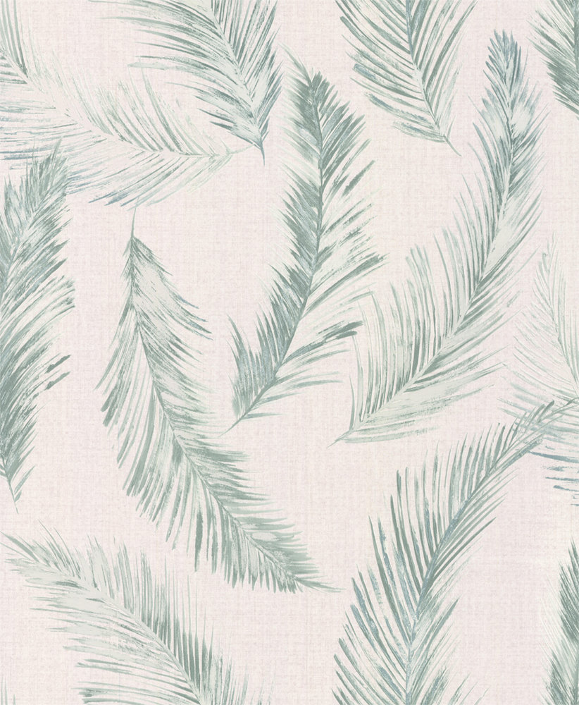 Albany Feathers Blue / Green Wallpaper - Product code: 35896-4