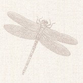Albany Dragonfly Taupe / Cream Wallpaper