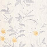 Albany Clover Yellow Wallpaper