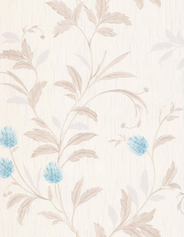 Albany Clover Teal Wallpaper - Product code: A33802
