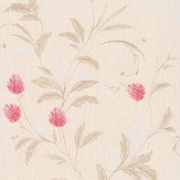 Albany Clover Red Wallpaper - Product code: A33804