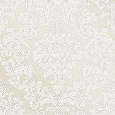 Albany Monaco Damask Cream Wallpaper