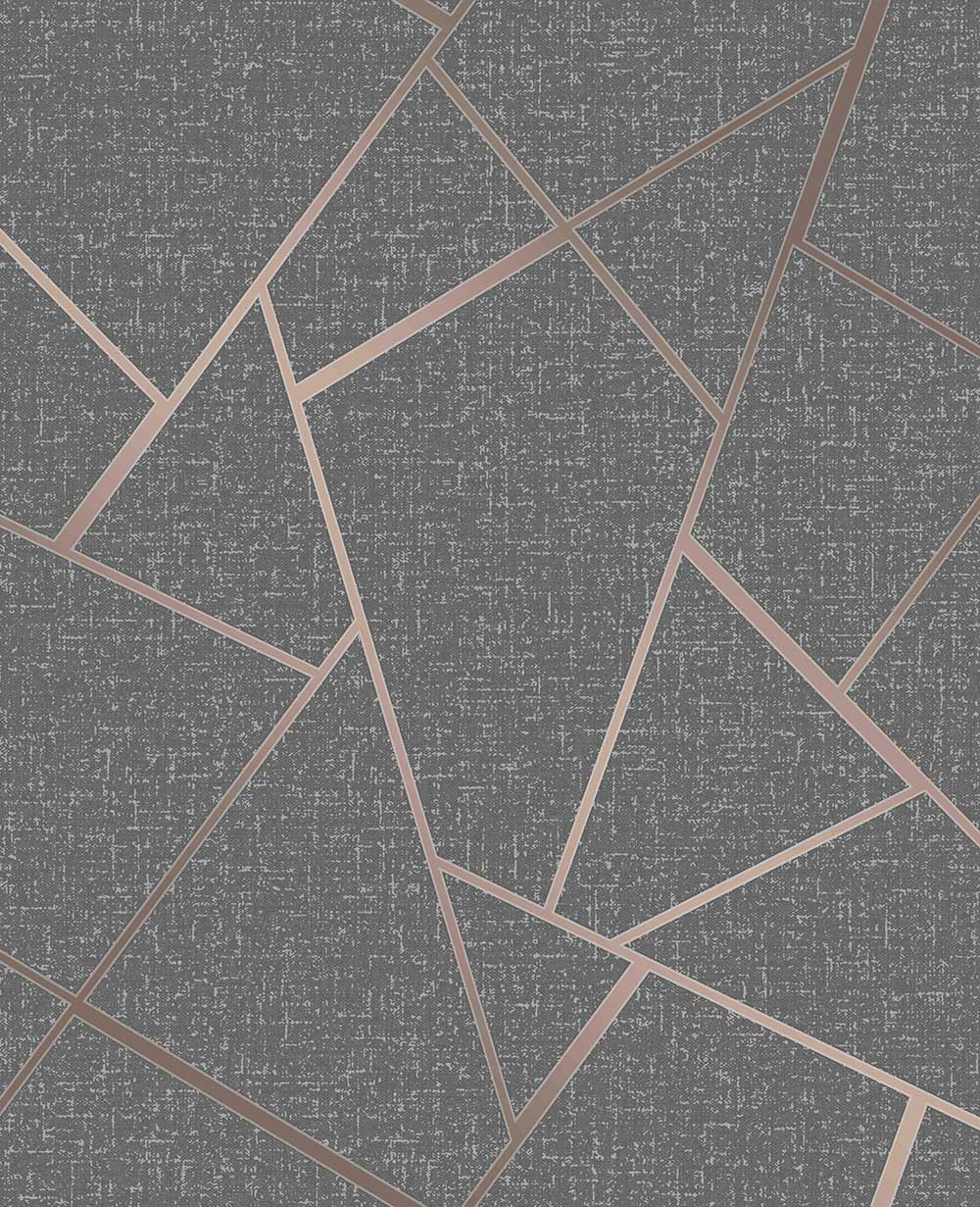 Quartz Wallpaper - Grey - by Albany