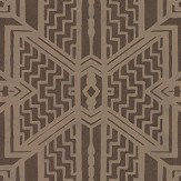 Ralph Lauren Brandt Geometric Bronze Wallpaper - Product code: PRL5011/04