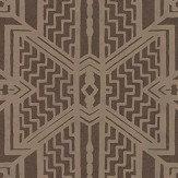 Ralph Lauren Brandt Geometric Bronze Wallpaper