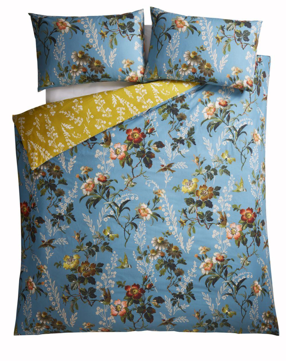 Oasis Leighton Duvet Set Teal Duvet Cover - Product code: M0011/01/KS