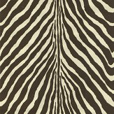 Ralph Lauren Bartlett Zebra Chocolate Wallpaper - Product code: PRL5017/03