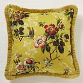Oasis Leighton Velvet Cushion Chartreuse - Product code: M2022/01