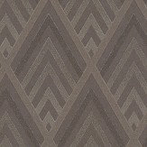 Ralph Lauren Jazz Age Geometric Bronze Wallpaper - Product code: PRL5019/03