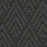 Ralph Lauren Jazz Age Geometric Charcoal Wallpaper - Product code: PRL5019/04