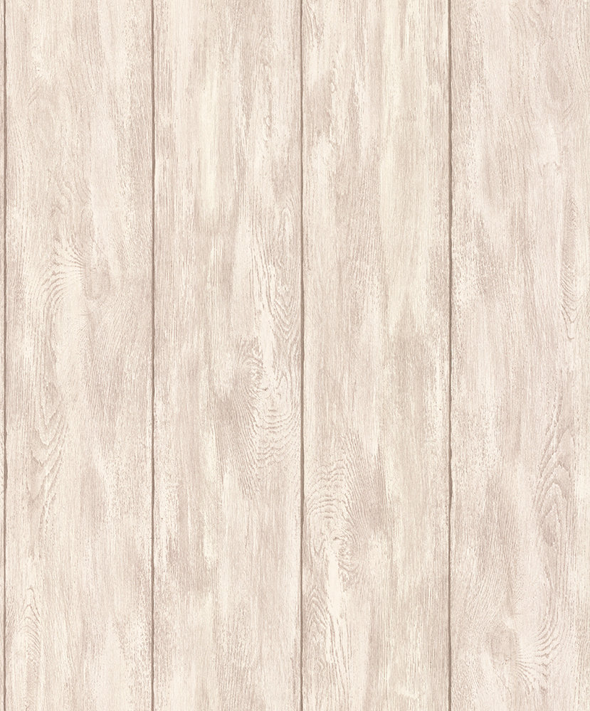Wood Panel By Albany Light Brown Wallpaper Direct