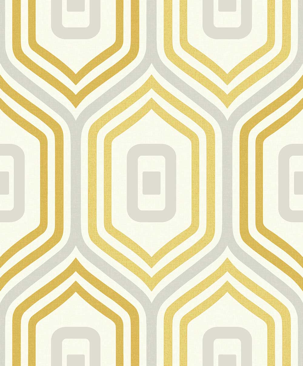 Albany Entity Yellow / Grey Wallpaper main image