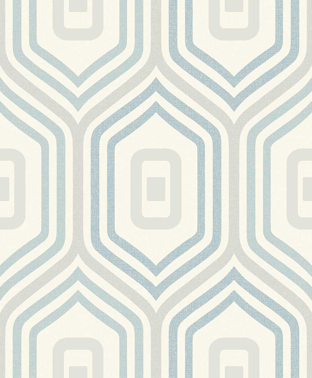 Albany Entity Blue  / Grey  Wallpaper - Product code: A33903