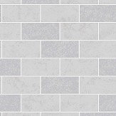 Albany Subway Tile Grey Wallpaper - Product code: FD41461