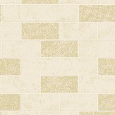 Albany Subway Tile Cream Wallpaper