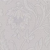 Albany Milano Flower Silver Grey Wallpaper