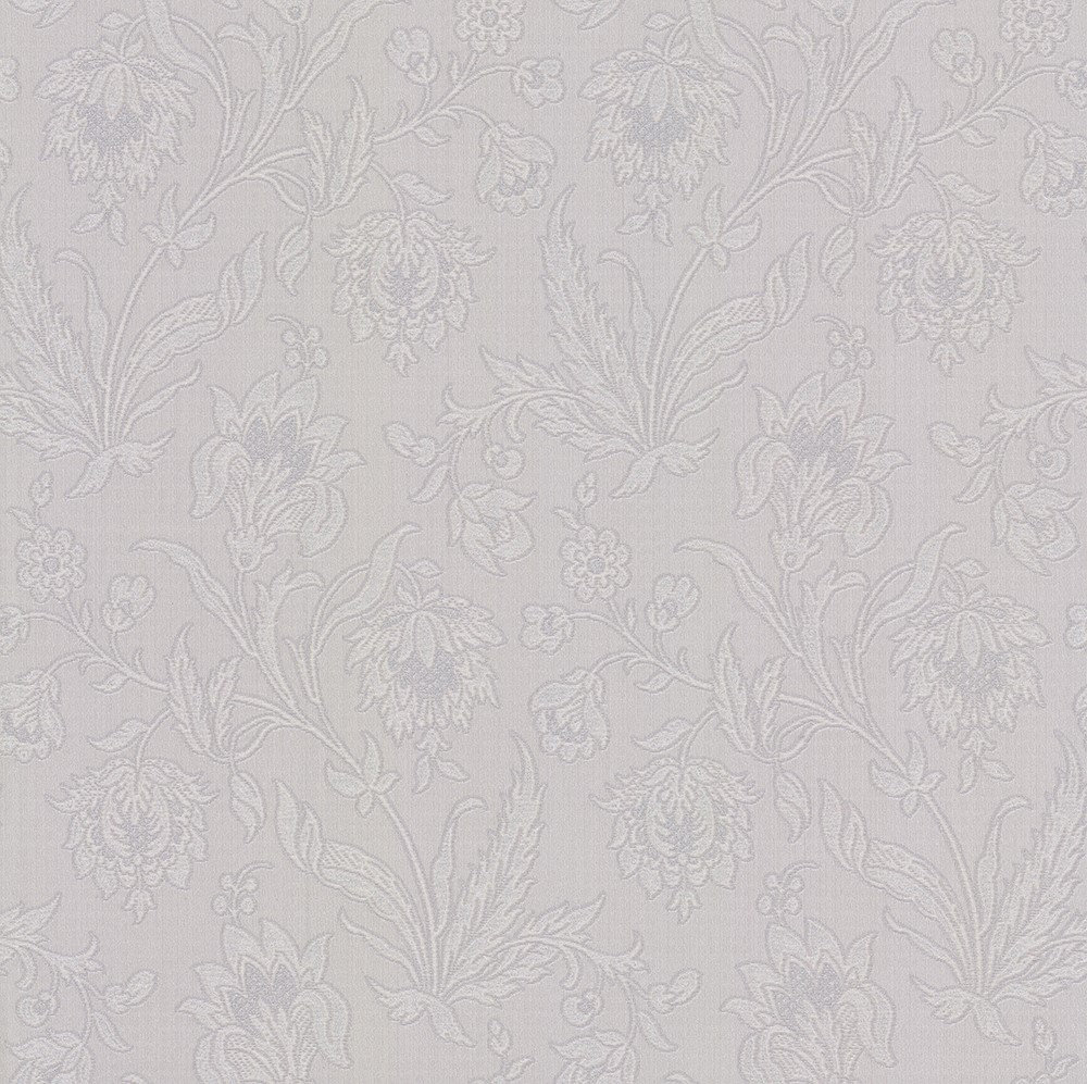 Albany Milano Flower Silver Grey Wallpaper - Product code: M95569