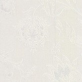Albany Milano Flower Opal White Wallpaper