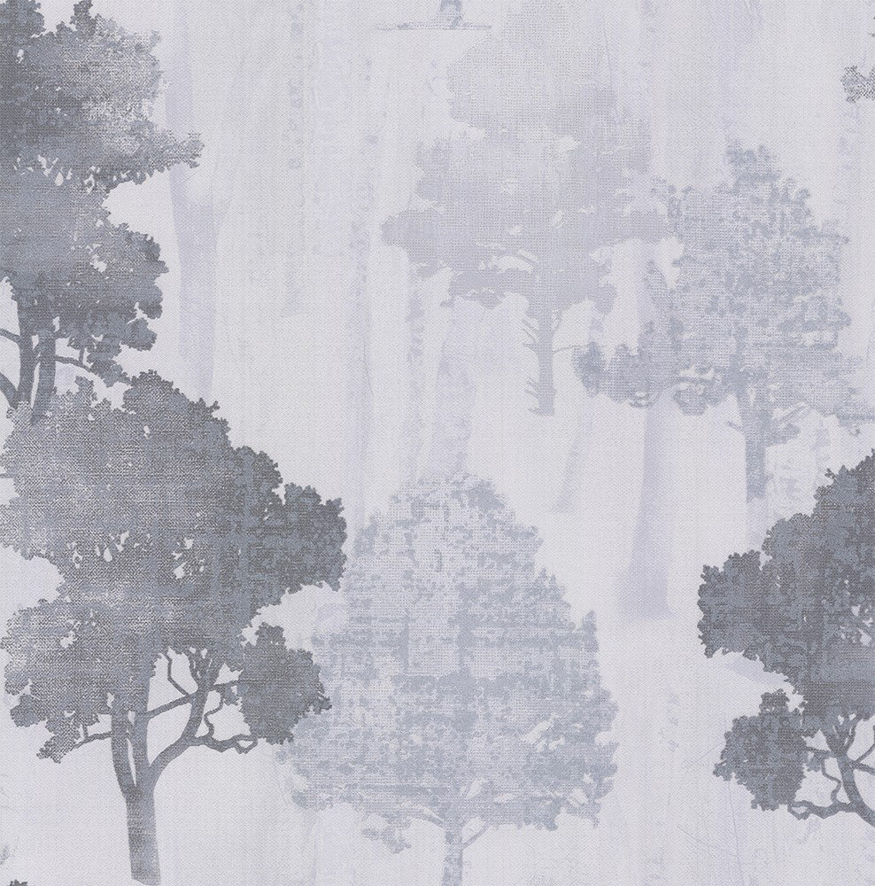 Albany Milano Forest Silver Grey Wallpaper - Product code: M95577