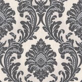 Albany Milano Damask Charcoal Wallpaper