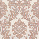 Albany Milano Damask Terracotta Wallpaper