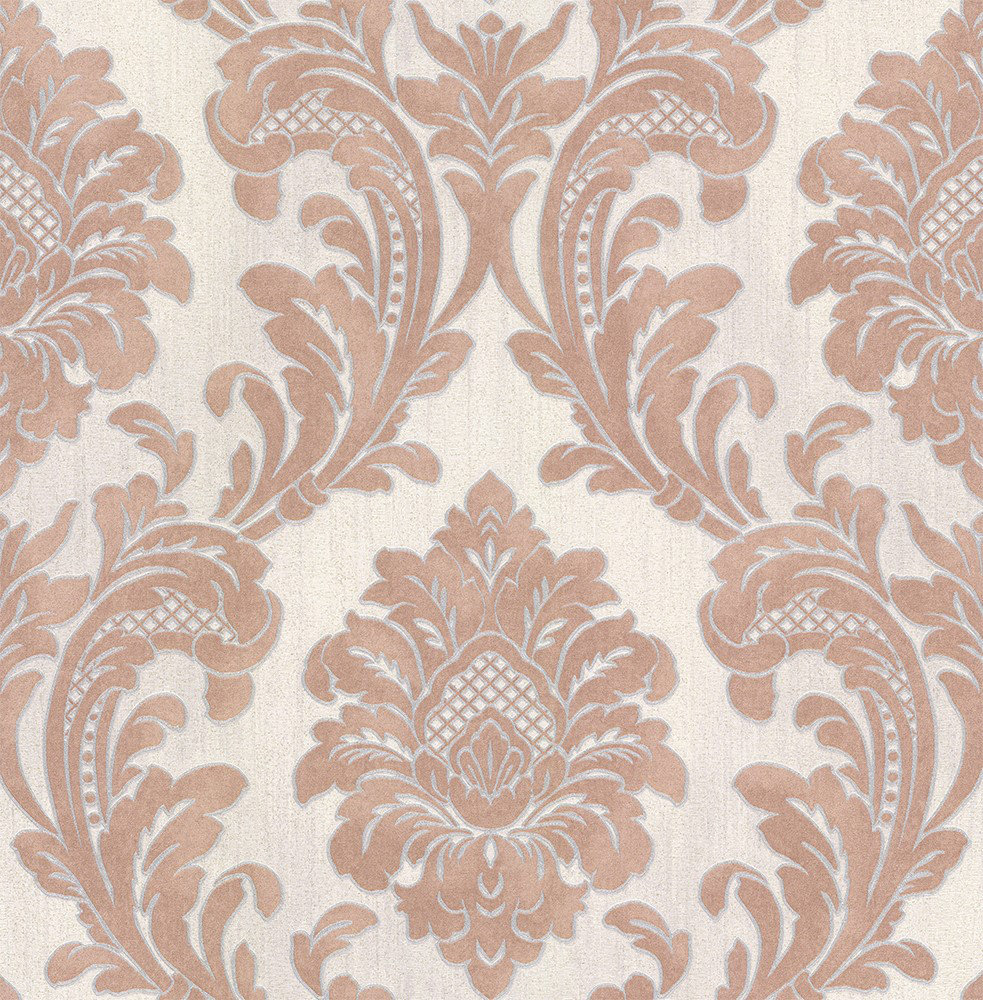 Albany Milano Damask Terracotta Wallpaper - Product code: M95595