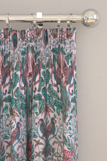 Emma J Shipley Amazon Pink Curtains - Product code: F1107/04