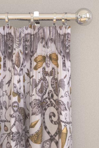 Emma J Shipley Extinct Gold Curtains - Product code: F1109/02