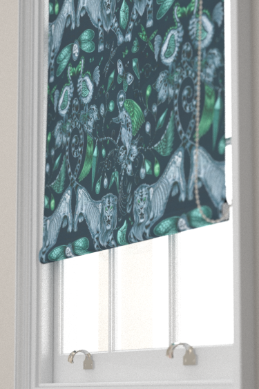 Emma J Shipley Extinct Navy Blind - Product code: F1109/04