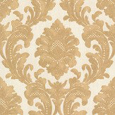 Albany Milano Damask Gold Wallpaper - Product code: M95588