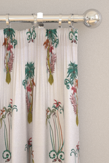 Emma J Shipley Jungle Palms Curtains - Product code: F1110/02