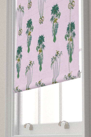 Emma J Shipley Jungle Palms Pink Blind - Product code: F1110/04